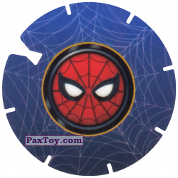 PaxToy 39 SPIDER MAN LOGO RED FACE