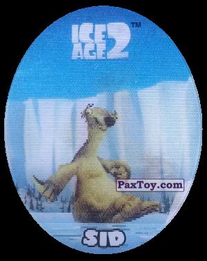 PaxToy.com - 39 Sid (Голографическая) из Cheetos: Ice Age 2