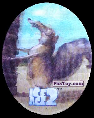 PaxToy.com - 41 Scrat (Голографическая) из Cheetos: Ice Age 2