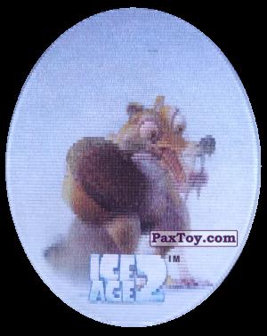 PaxToy.com - 43 Scrat (Голографическая) из Cheetos: Ice Age 2