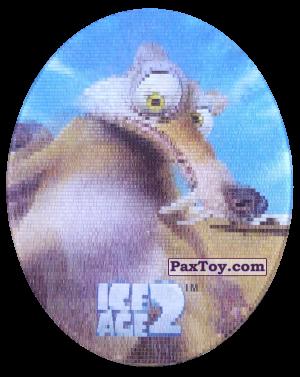 PaxToy.com - 45 Scrat (Голографическая) из Cheetos: Ice Age 2