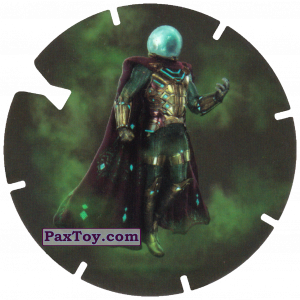 PaxToy.com - 46 Mysterio (MEGA TAZO) из Doritos: Spider-Man Lejos De Casa (MEGA TAZOS)
