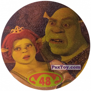 PaxToy.com - 48 Shrek & Fiona из Cheetos: Shrek 2 (50 штук)