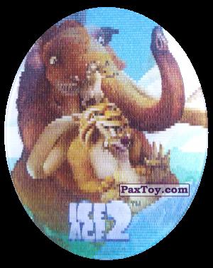 PaxToy.com - 48 Manny, Diego & Sid (Голографическая) из Cheetos: Ice Age 2