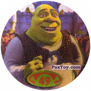 PaxToy.com - 49 Shrek из Cheetos: Shrek 2 (50 штук)