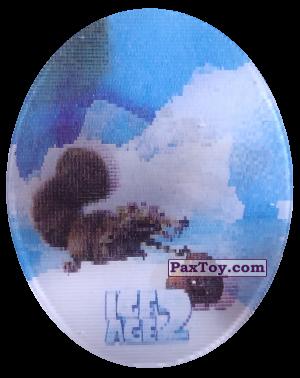 PaxToy.com - 50 Scrat (Голографическая) из Cheetos: Ice Age 2