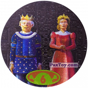 PaxToy.com - 6 King Harold & Queen Lillian из Cheetos: Shrek 2 (50 штук)
