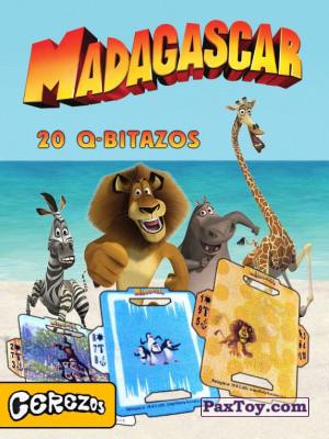 PaxToy Cerezos: Madagascar (TAZOS / Q-Bitazos)