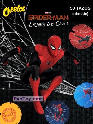 PaxToy Cheetos: Spider-Man Lejos De Casa (CLASSIC TAZOS)