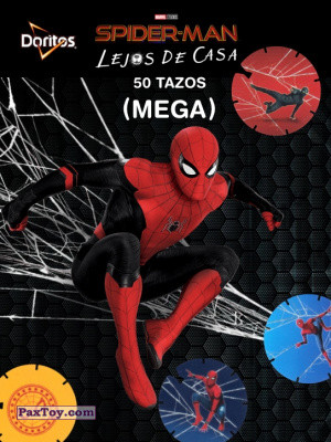 PaxToy Doritos: Spider-Man Lejos De Casa (MEGA TAZOS)