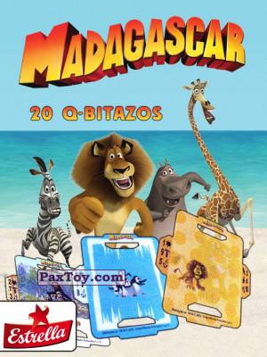 PaxToy Estrella: Madagascar (TAZOS / Q-Bitazos)