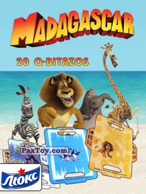 PaxToy Люкс Чипсы: Madagascar (TAZOS / Q-Bitazos)