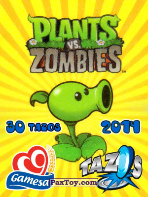 PaxToy Gamesa: Plants Vs. Zombies TAZOS