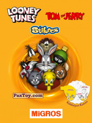 PaxToy Migros: Tom & Jerry and Looney Tunes Stikeez