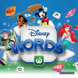 PaxToy Woolworths 2019 Disney Words   04