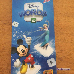 PaxToy Woolworths 2019 Disney Words   06