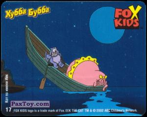 PaxToy.com - 17 Анабель и Ийк плавают на лодке из Hubba Bubba: Fox Kids - Кот по имени Ийк