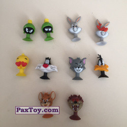 PaxToy Migros 2018 Tom & Jerry and Looney Tunes Stikeez 05