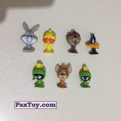 PaxToy Migros 2018 Tom & Jerry and Looney Tunes Stikeez 06