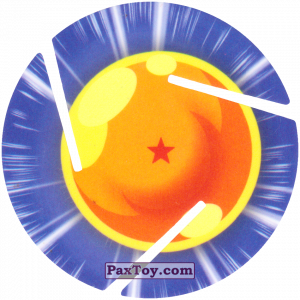 PaxToy.com - 001 One Star Dragon Ball из Cheetos: Dragon Ball Z XFERAS Tazos