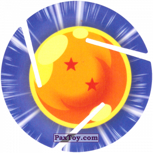 PaxToy.com - 002 Two Star Dragon Ball из Cheetos: Dragon Ball Z XFERAS Tazos