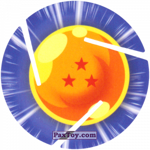 PaxToy.com - 003 Three Star Dragon Ball из Sabritas: Dragon Ball Z XFERAS Tazos