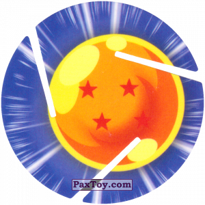 PaxToy.com - 004 Four Star Dragon Ball из Sabritas: Dragon Ball Z XFERAS Tazos