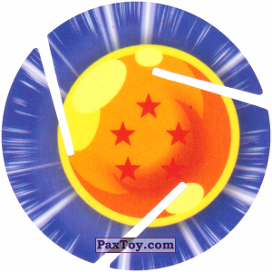 PaxToy.com - 005 Five Star Dragon Ball из Sabritas: Dragon Ball Z XFERAS Tazos