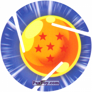 PaxToy.com - 006 Six Star Dragon Ball из Cheetos: Dragon Ball Z XFERAS Tazos