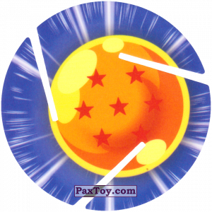 PaxToy.com - 007 Seven Star Dragon Ball из Sabritas: Dragon Ball Z XFERAS Tazos
