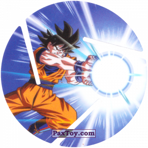 PaxToy.com - 009 Son Goku - Blast из Sabritas: Dragon Ball Z XFERAS Tazos
