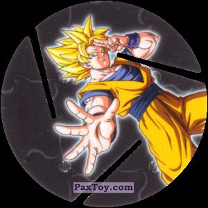 PaxToy.com - 010 Son Goku - Super Saiyan из Sabritas: Dragon Ball Z XFERAS Tazos