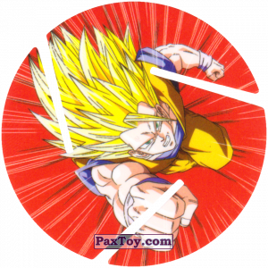 PaxToy.com - 012 Super Saiyan Goku - Fly из Cheetos: Dragon Ball Z XFERAS Tazos
