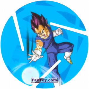 PaxToy.com - 016 Vegeta - Attack из Sabritas: Dragon Ball Z XFERAS Tazos
