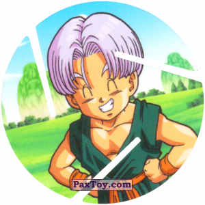 PaxToy.com - 023 Trunks Brief из Sabritas: Dragon Ball Z XFERAS Tazos