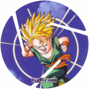 PaxToy.com - 024 Super Saiyan Trunks из Sabritas: Dragon Ball Z XFERAS Tazos