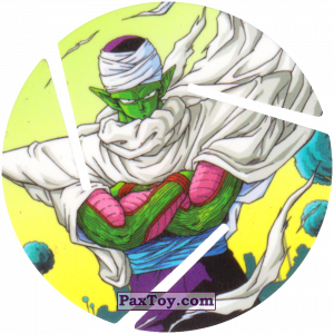 PaxToy.com - 025 Piccolo из Sabritas: Dragon Ball Z XFERAS Tazos