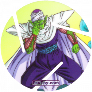 PaxToy.com - 026 Piccolo из Sabritas: Dragon Ball Z XFERAS Tazos