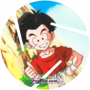 PaxToy.com - 029 Krillin - OK из Sabritas: Dragon Ball Z XFERAS Tazos