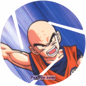 PaxToy.com - 030 Krillin из Sabritas: Dragon Ball Z XFERAS Tazos