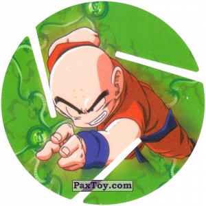 PaxToy.com - 031 Krillin - Preparing to attack из Sabritas: Dragon Ball Z XFERAS Tazos