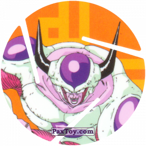 PaxToy.com - 034 Frieza - Second Form из Cheetos: Dragon Ball Z XFERAS Tazos