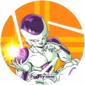 PaxToy.com - 036 Frieza - Fourth Form из Cheetos: Dragon Ball Z XFERAS Tazos