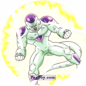 PaxToy.com - 037 Frieza - Fourth Form Power из Sabritas: Dragon Ball Z XFERAS Tazos
