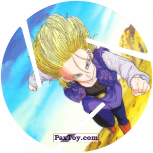 PaxToy.com - 043 Android 18 из Sabritas: Dragon Ball Z XFERAS Tazos