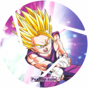 PaxToy.com - 049 Gohan - Super Saiyan из Sabritas: Dragon Ball Z XFERAS Tazos