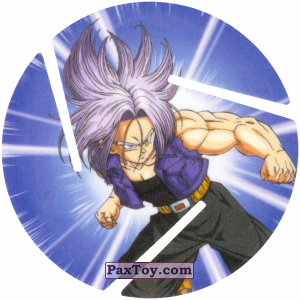 PaxToy.com - 050 Trunks - From the future из Cheetos: Dragon Ball Z XFERAS Tazos