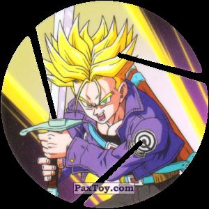 PaxToy.com  Фишка / POG / CAP / Tazo 051 Trunks - From the future S.S. I из Cheetos: Dragon Ball Z XFERAS Tazos
