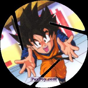 PaxToy.com  Фишка / POG / CAP / Tazo 053 Goten - Happy из Cheetos: Dragon Ball Z XFERAS Tazos