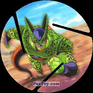 PaxToy.com  Фишка / POG / CAP / Tazo 057 Cell - Running из Cheetos: Dragon Ball Z XFERAS Tazos
